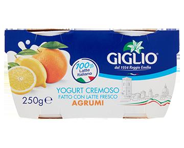 Yogurt Intero agli agrumi