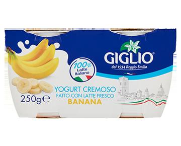 Yogurt Intero alla banana