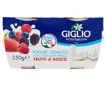 Yogurt Intero ai frutti di bosco