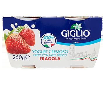 Yogurt Intero alla fragola
